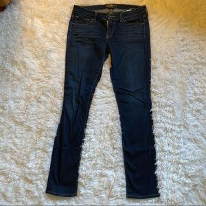 Lucky Brand dark wash Charlie Skinny jeans
